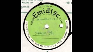 Unknown (Acetate) - Thank You (Has Joe Meek rec on flipside)
