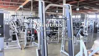 Buy Used Nautilus 2ST Smith Machine For Sale