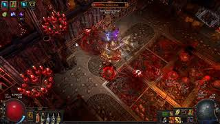 Path of Exile 3.1 - T14 Crimson Temple boss