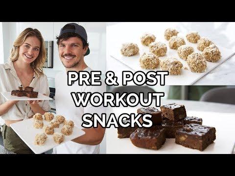 Pre & Post Workout Snacks | Model Recipes, Super Healthy, & Vegan | Sanne Vloet