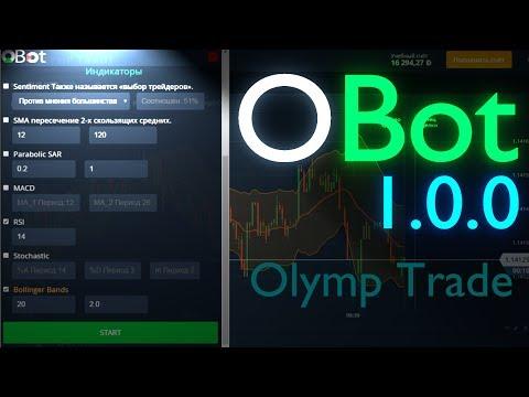 Робот для бинарных опционов Olymp Trade - OBot 1.0