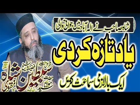 Molana syed subtain shah naqvi -albadar islamic center