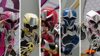 Power Rangers Super Ninja Steel - Game Plan - Megazord Fight Episode 5