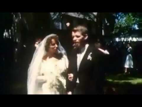 June 17, 1950 - Color clip from Robert F. Kennedy and Ethel Skakels wedding