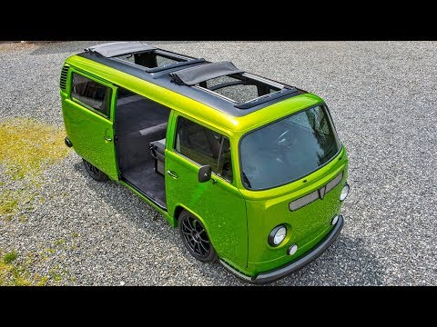 1973 Volkswagen Kombi Type 2 Subaru EJ25 STI 400hp Powered Campervan Build Project
