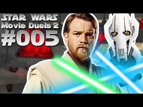 STAR WARS MOVIE DUELS 2 #005 Obi wan Kenobi vs. General Griv