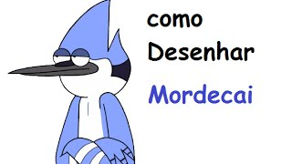 How to Draw Mordecai/ Como Desenhar Mordecai-Regular Show