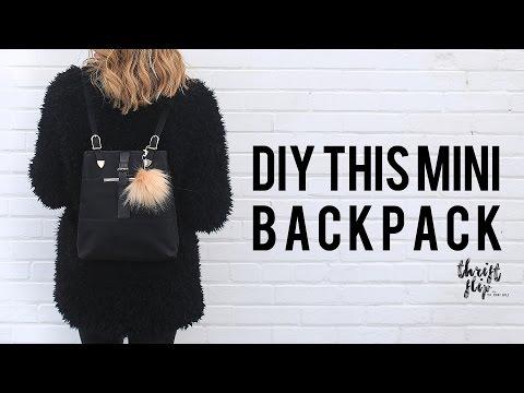 DIY MINI BACKPACK | THE SORRY GIRLS