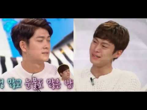 161115 5urprise member Kang Tae Ho talks about Gong Myung's tears