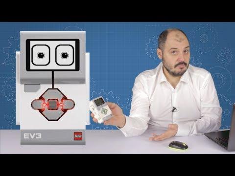 Программирование экрана в Lego EV3 Mindstorms
