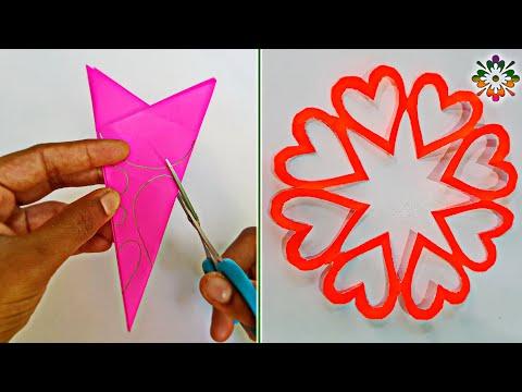 5 Snowflake  Ideas For Valentine's Day Decoration    Snowflakes Ideas❤