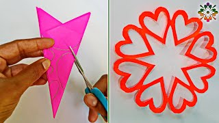 5 Snowflake  ideas for Valentine's day Decoration || Snowflakes Ideas❤