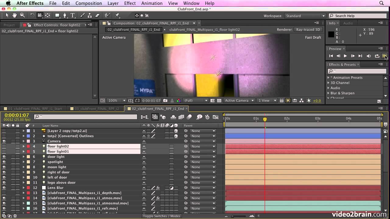 Tutorial how to create realistic post-rendering of 3d rendering.