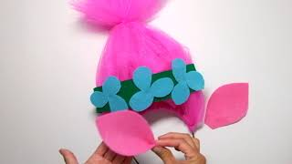 How-To: Kids Poppy Troll Costume DIY (No Sewing Required!)