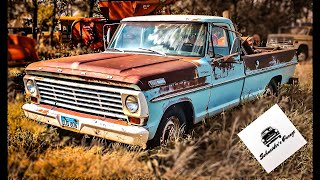 ABANDONED 1967 F250 camper special Ford Rescued! Part 1
