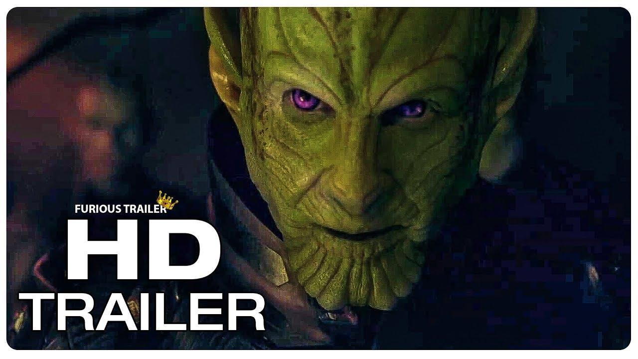 CAPTAIN MARVEL : 8 Minute Clips + Trailer (NEW 2019) Superhero Movie HD