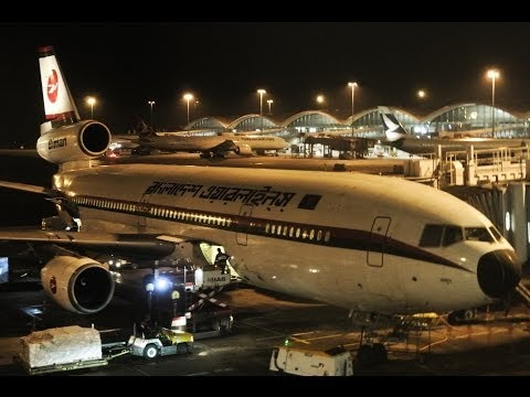 Biman DC-10-30 adventure! ✈ Dhaka - Hong Kong return flight ✈ With cockpit jumpseat footage