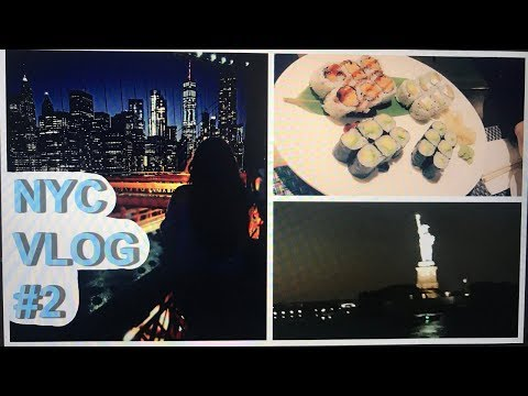 NEW YORK VLOG #2 : Manhattan | Brooklyn | Shopping im Walmart |  Ecem Ates