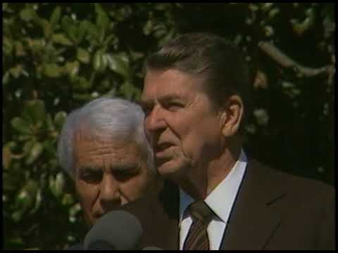 Remarks by President Reagan and President Chadli Bendjedid of Algeria on April 17, 1985