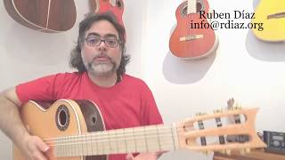 Mechanical playing vs Natural flow / Learning Paco de Lucia´s style/ Ruben Diaz