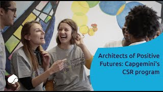 Architects of Positive Futures: Capgemini's CSR program