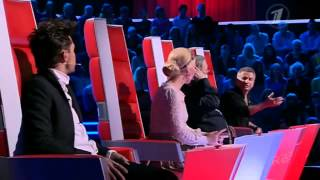 Шоу Голос Первый канал Эльмира Калимуллина Колыбельная