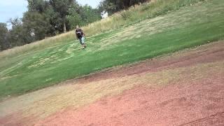 Prt2 golf .we hit stp button. an rec my fat thumb