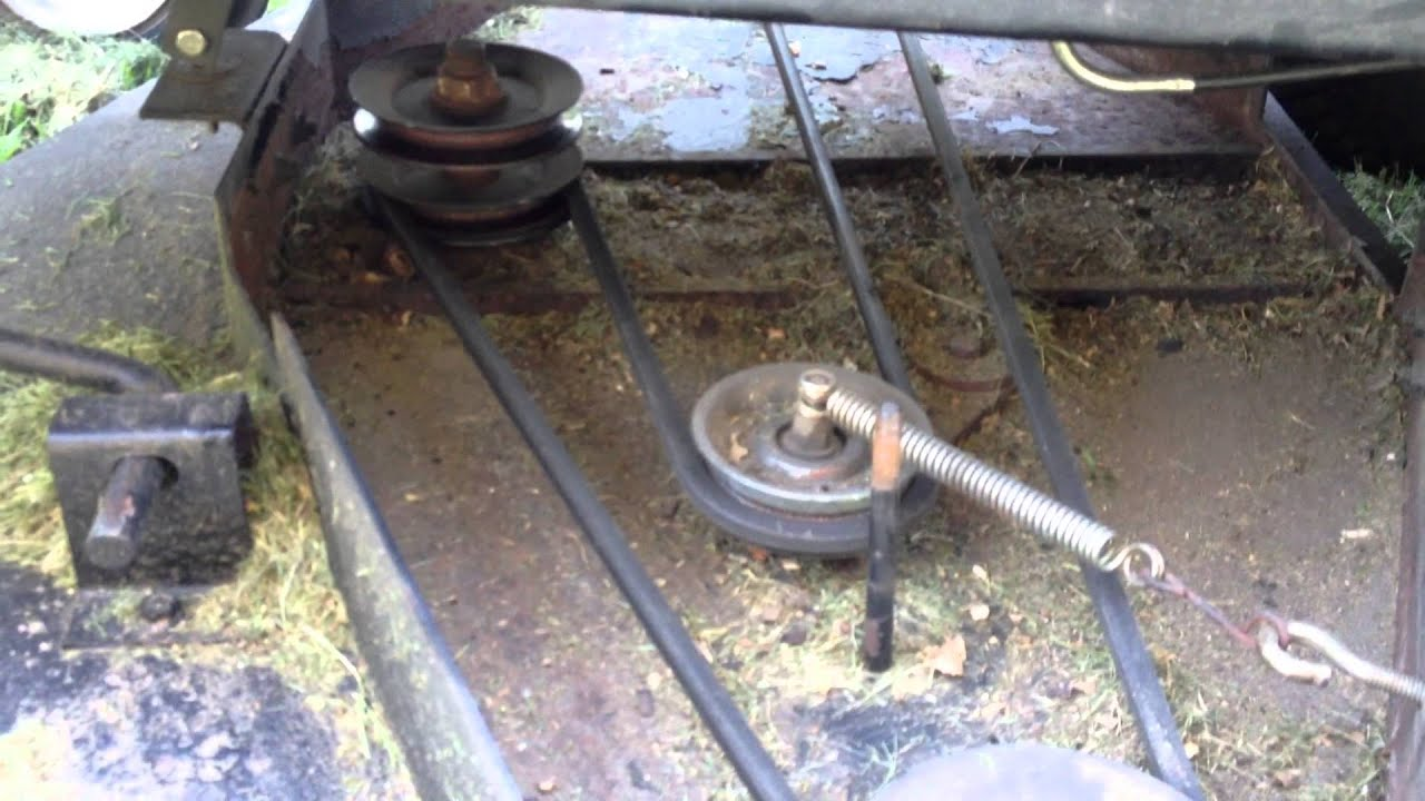 Swisher 60 Inch Pull Behind Mower Belt Diagram