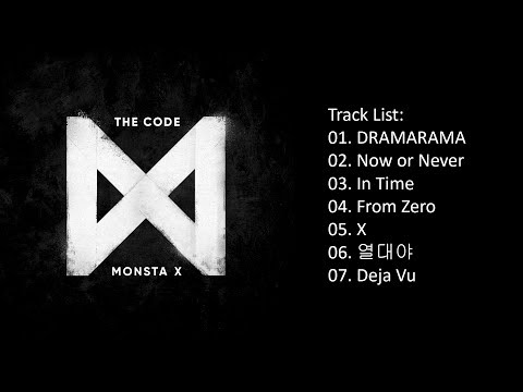 [Full Album] MONSTA X – THE CODE (5th Mini Album)