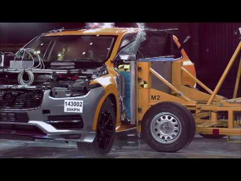 Volvo XC90 safety features and crash tests (video by Volvo)