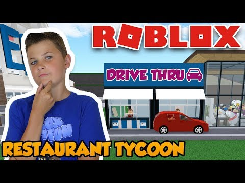 HOW TO BUILD A DRIVE THRU in ROBLOX RESTAURANT TYCOON! AMAZING NEW UPDATE