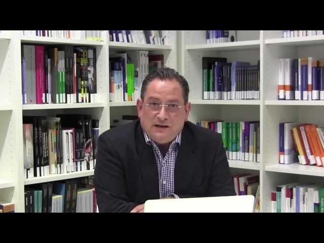 Begrüßung der Interessenten durch Prof. Dr. Georg Gaßmann