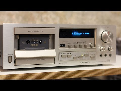 Repairing A Pioneer CT-F850 Tape Deck  From 1979 (incl. Belt Replacement)