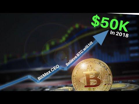 BitMEX CEO Says Bitcoin Will HIT $50k In 2018 - Today's Crypto News
