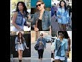 Denim fashion trends and celebrities style