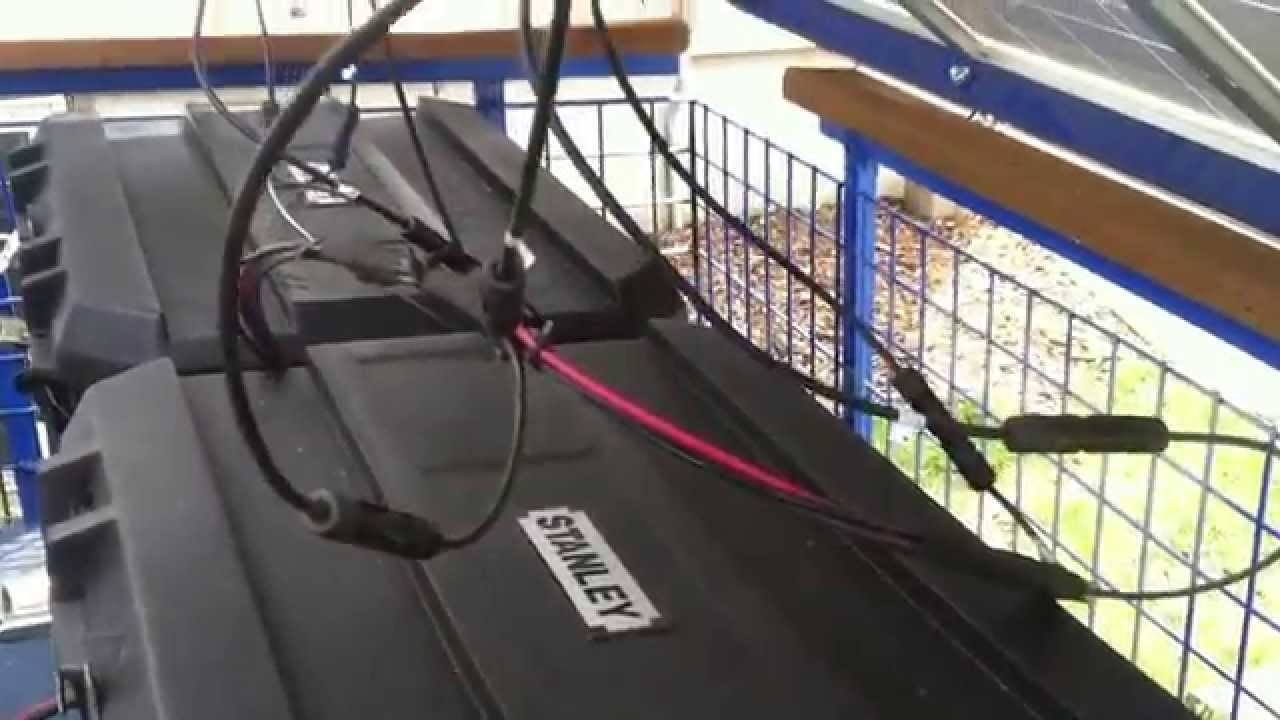 Completed Solar Generator Trailer 2014 - YouTube