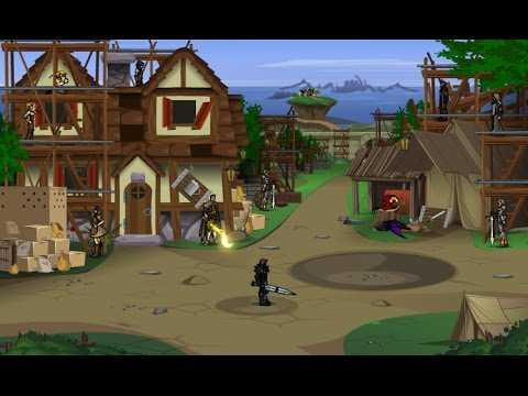Dragonfable: The Spear of Lumina/Destroyed Falconreach