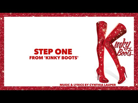 "Step One (from ""Kinky Boots"") Piano Instrumental Karaoke"