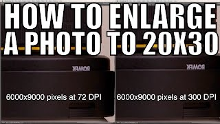 How To Prepare Your Images For Large Prints   Q&A Ep.54