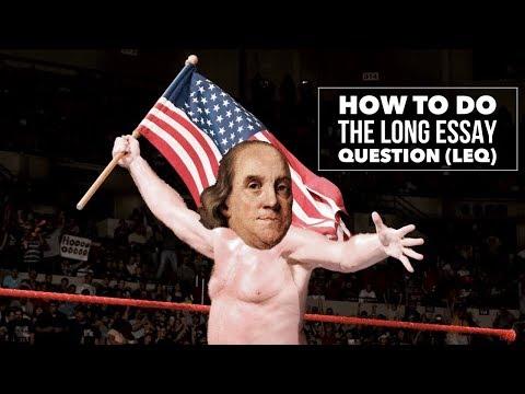AP History Long Essay Question (LEQ) Explained