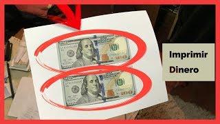 Imprimir Billetes ¿Se puede?