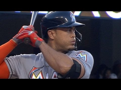 Stanton crushes homer out of Dodger Stadium