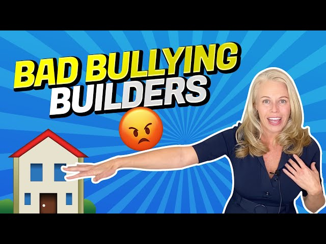 Bad, Bullying, Home Builders...  Followed Her To Walmart To Get a Money Order For The Deposit 😳