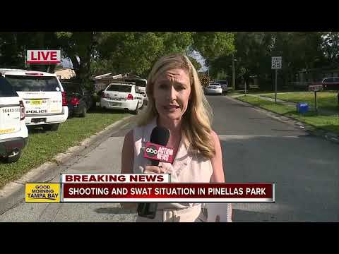 SWAT responds to shooting in business parking lot in Pinellas Park