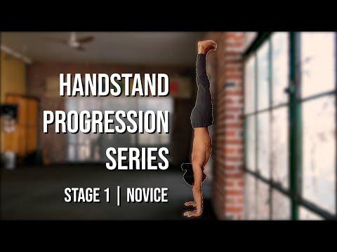 Handstand Progression Series (Stage 1) Novice | Building Strength