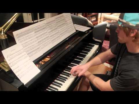 Philip Glass - Metamorphosis Two + Sheet Music [HD]