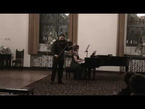 York Bowen - 1st Sonata for viola and piano (Marcin Murawski - viola, Urszula Szyryńska - piano)
