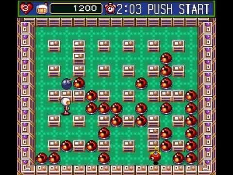 SNES Longplay [126] Super Bomberman 5