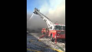 Fdny 7th alarm in williamsburg brooklyn