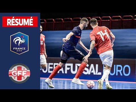 Futsal : France-Georgie (4-4), le résumé